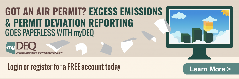 Air Quality Excess Emissions and Permit Deviations Reporting Now on myDEQ